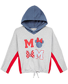 Disney Big Girls Colorblocked Minnie Mouse Hoodie