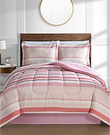 Austin 8-Pc. Reversible Queen Bedding Ensemble
