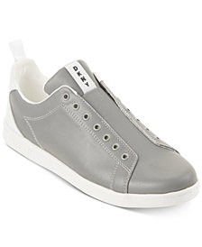 DKNY Men's Finn Leather Lace-up Sneakers