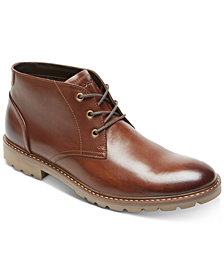 Rockport Men's Leather Sharp & Ready Chukkas
