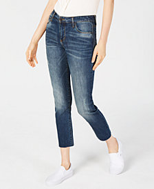 STS Blue Cropped Straight-Leg Jeans