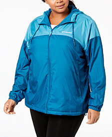 Columbia Plus Size Flash Forward™ Lined Windbreaker