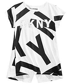 DKNY Big Girls Logo-Print T-Shirt