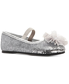 Nina Toddler & Little Girls Star-T Sequin Flats