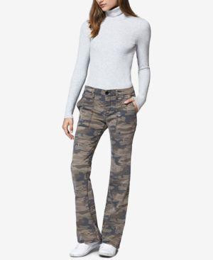 Camo Print Chino Pants, Human Nature Camo