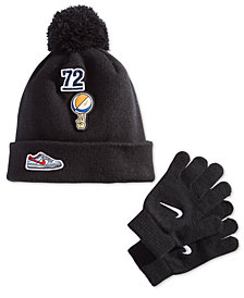 Nike Little Boys 2-Pc. Patches Hat & Gloves Set