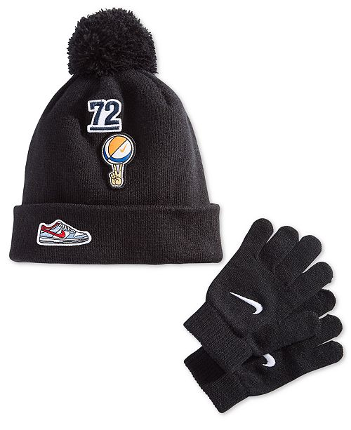 cadd0effd8c Nike Little Boys 2-Pc. Patches Hat   Gloves Set   Reviews - All Kids ...