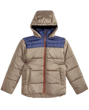 Rm 1958 Big Boys Samuel Hooded Colorblocked Jacket