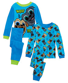 AME Toddler Boys 4-Pc. Puppy Dog Pals Cotton Pajamas Set