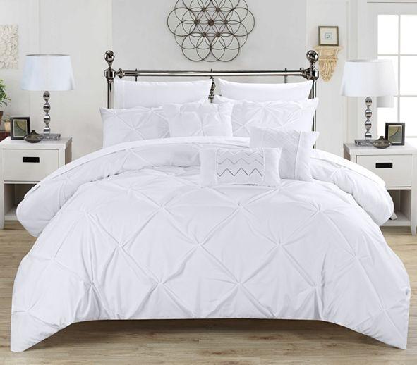Chic Home Hannah 10 Piece King Comforter Set