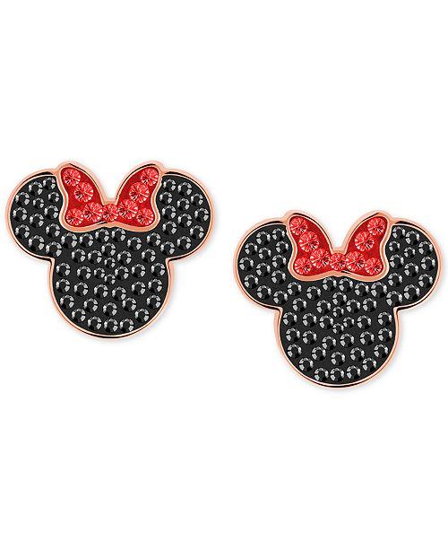 e5ab0566e Swarovski Tri-Tone Crystal Minnie Mouse Stud Earrings   Reviews ...