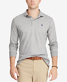 Polo Ralph Lauren Men's Classic Fit Soft-Touch Cotton Polo, Created for Macy's