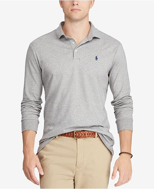 Men's Classic Fit Soft-Touch Cotton Polo, Created for Macy's
