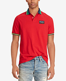 Polo Ralph Lauren Men's Hi Tech Mesh Cotton Classic Fit Polo
