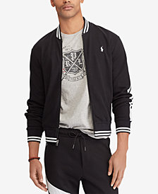 Polo Ralph Lauren Men's Big & Tall Cotton Baseball Inspired Bomber Jacket