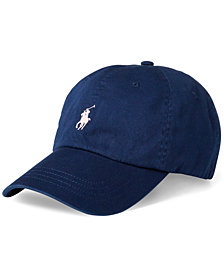 Polo Ralph Lauren Men's Pink Pony Cotton Baseball Cap
