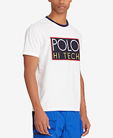 Polo Ralph Lauren Men's Big & Tall Hi Tech Classic Fit Cotton T-Shirt