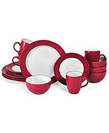 Pfaltzgraff 16-Pc. Harmony Red Dinnerware Set