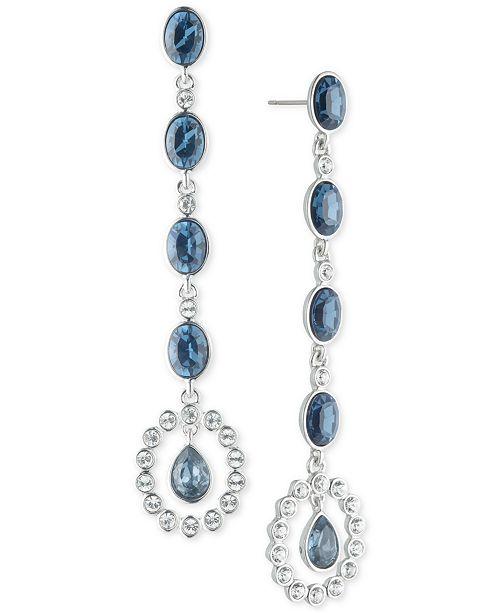a11de793f44d Givenchy Crystal   Stone Linear Drop Earrings - Fashion Jewelry ...
