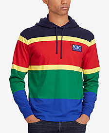 Polo Ralph Lauren Men's Big & Tall Hi Tech Soft-Touch Cotton Hoodie