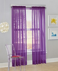"No. 918 Calypso 59"" x 84"" Sheer Curtain Panel"