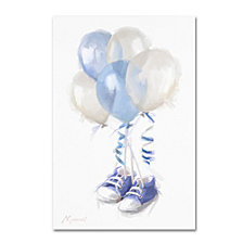 The Macneil Studio 'Blue Booties 2' Canvas Art Collection