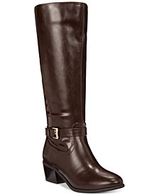 Karen Scott Fayth Riding Boots, Created for Macy's