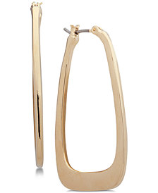 Nine West Geometric Hoop Earrings