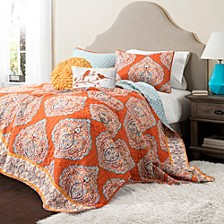 Harley Full/Queen Quilt 5pc Set