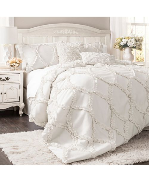 Lush Decor Avon Comforter 3Pc Sets