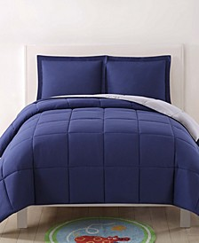 Reversible 3 Pc Full/Queen Comforter Set