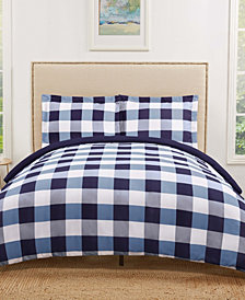 Truly Soft Everyday Buffalo Plaid  Twin XL Duvet Set