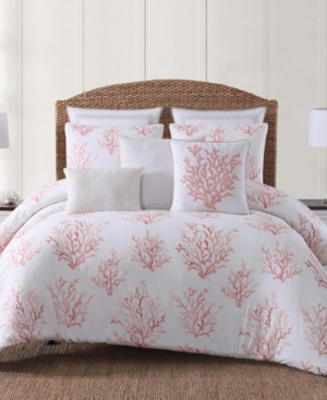 Oceanfront Resort Cove Coral Printed 2 Piece TwinTwin Xl Comforter Set Bedding