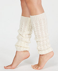 HUE® Cable-Knit Legwarmers