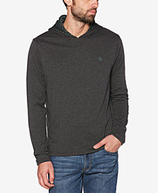Original Penguin Men's Reversible Pullover Hoodie