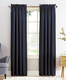"Sun Zero Grant Room Darkening Pole Top 54"" x 108"" Curtain Panel"