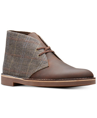 Men's Limited Edition Tweed Bushacres, Created For Macy's by Clarks