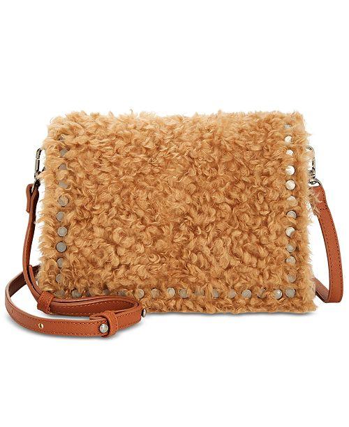 493ed6707af Steve Madden Kate Faux Fur Crossbody & Reviews - Handbags ...