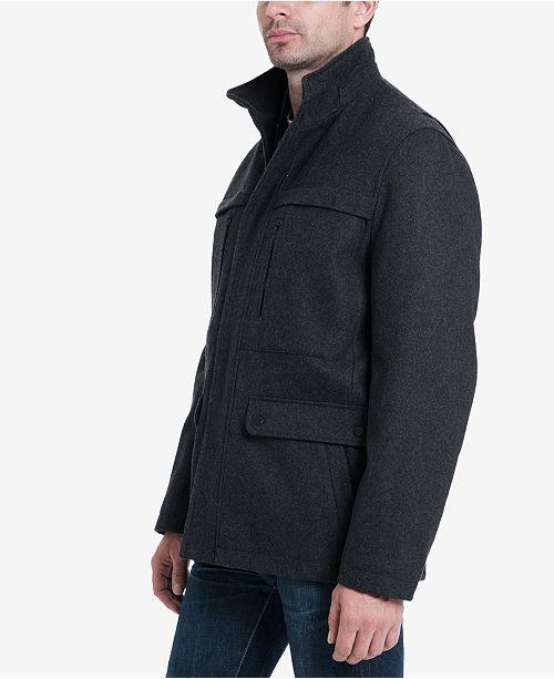 bffde0ea1b722 Michael Kors Men s Wool Blend Coat   Reviews - Coats   Jackets - Men ...