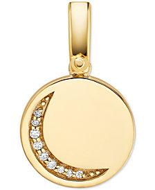 Michael Kors Women's Custom Kors 14K Gold-Plated Sterling Silver Moon Charm
