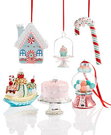 Holiday Lane Sweet Tooth Ornament Collection, Created for Macy's