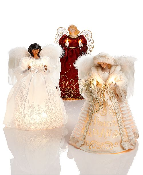 Christmas Angel Tree Topper.Tree Topper Collection Created For Macy S
