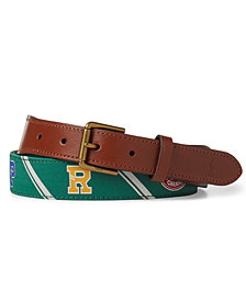 Polo Ralph Lauren Men's Polo-Overlay Webbed Belt