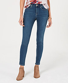 Style & Co Mid-Rise Skinny Jeans, Created for Macy's