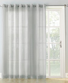 "Sheer Voile 100"" x 84"" Grommet Top Patio Curtain Panel"
