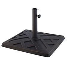 Square Umbrella Base - Antique Bronze