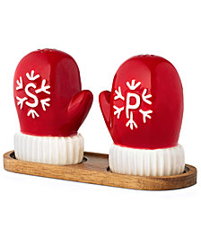 Martha Stewart Collection Mitten Salt & Pepper Shakers, Created for Macy's