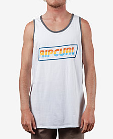 Rip Curl Men's Full Throttle Logo Graphic Ringer Tank