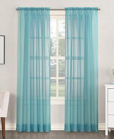 """Lichtenberg No. 918 Sheer Voile 59"""" x 108"""" Rod Pocket Curtain Panel"""
