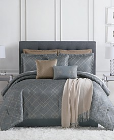 Dunham 10-Pc. Full Comforter Set, Created for Macy's